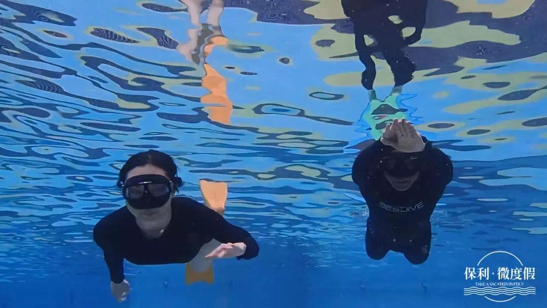 这将是你人生中最酷的体验!保利微度假.26°国际潜水营全城招
