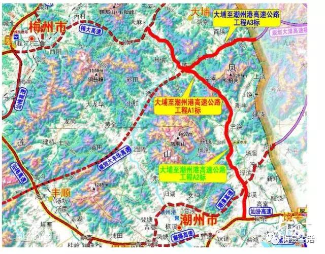 喜讯!大潮(大埔—潮州)高速大漳支线最长隧道顺利贯通
