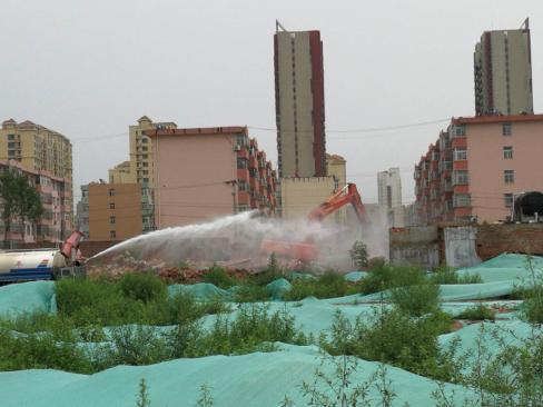 """唐山市今年拆违386.73万平方米 9月底前存量违建""""清零"""""""
