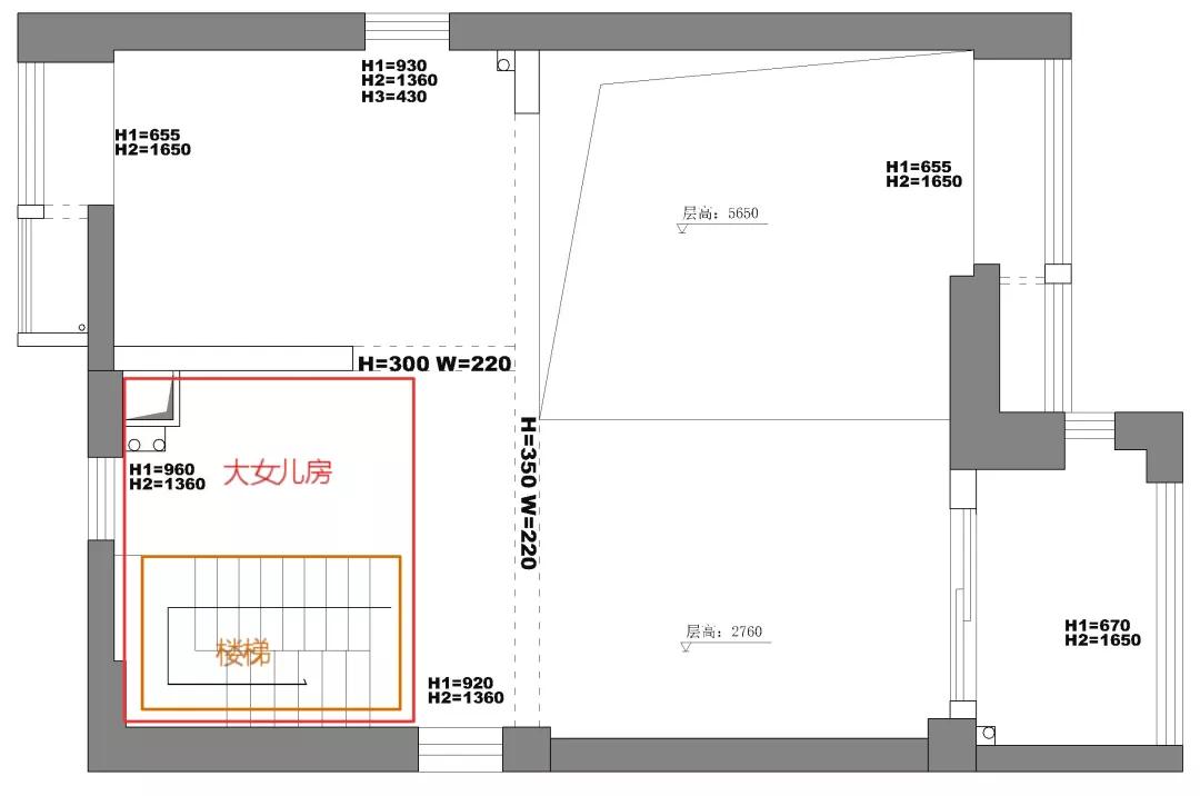 设计师50m²魔改五房,六口之家一点都不挤! 设计师 第2张