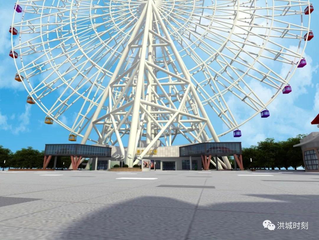 南昌之星摩天轮将打造智慧化旅游景区!助推4A级景区建设!