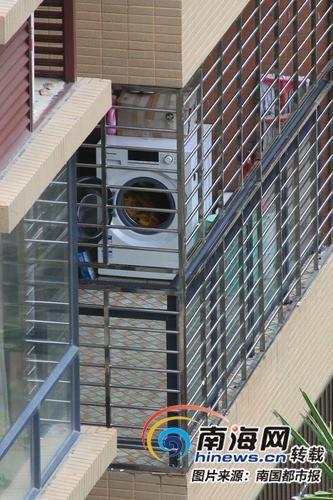 陽臺別放洗衣機 海口計劃用4年時間實現雨污管分流