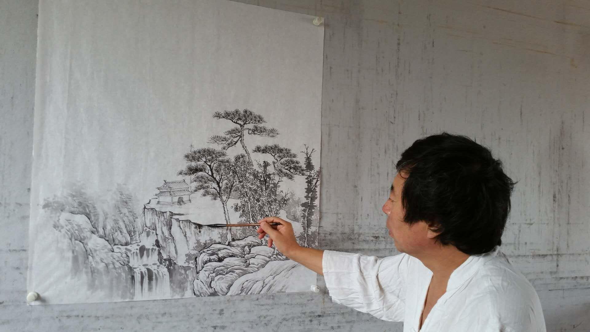 画家王立全的山水画怎么样?充满诗情画意的自然山水