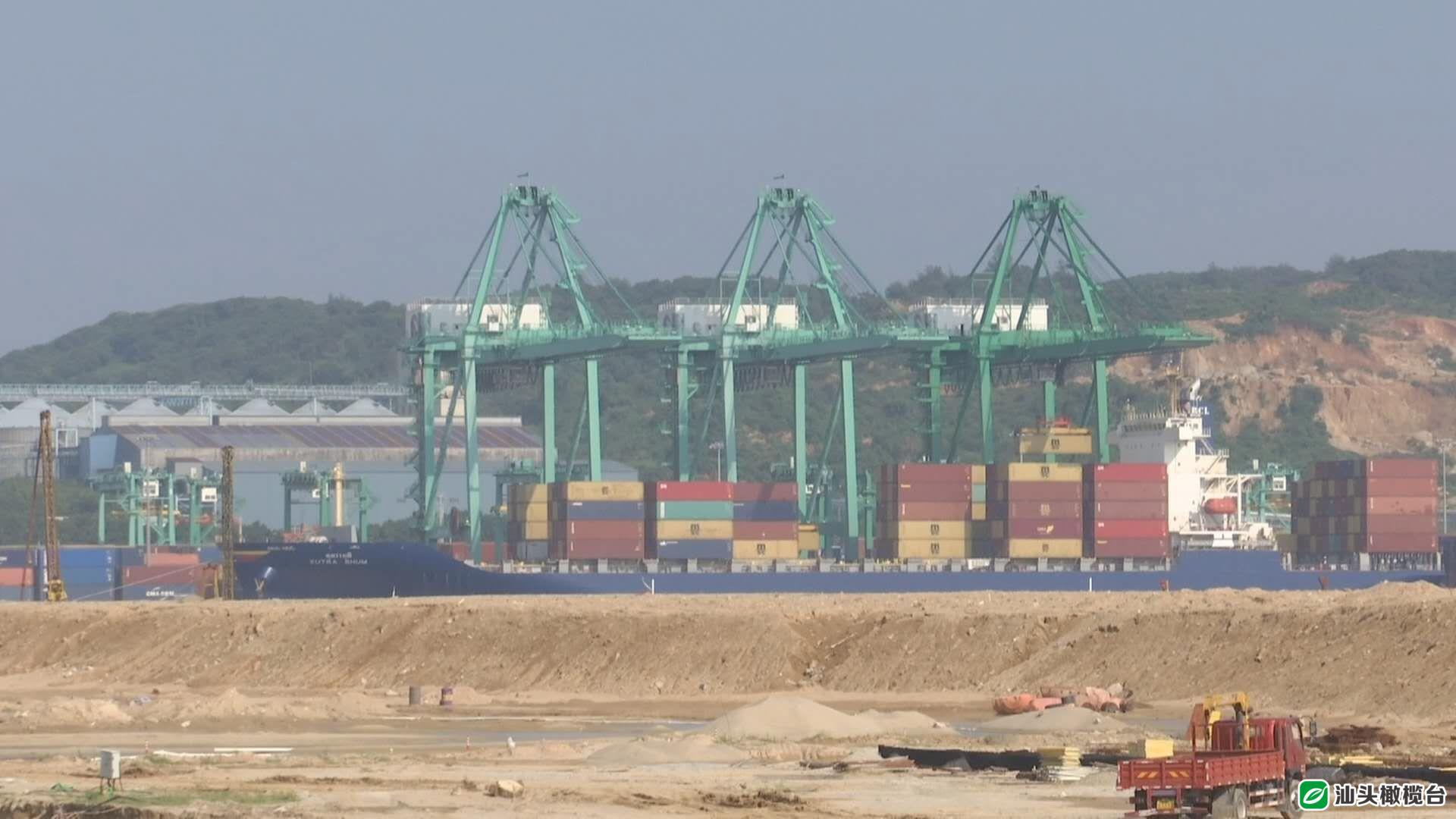广澳港区首个10万吨级集装箱泊位有望今年底建成试运营!