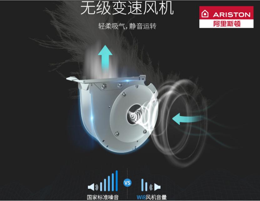 无噪音与高安全性的完美结合,阿里斯顿Wi8燃气热水器值得拥有