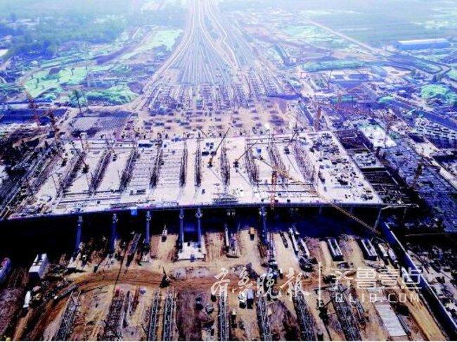 济南新东站片区建设加速:规划18条道路,起步区已开建