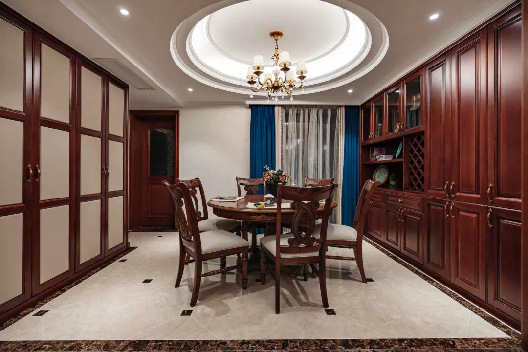 新中式轻奢风格经典设计:一扇门,两个世界,两种生活, 新中式 装修 第4张