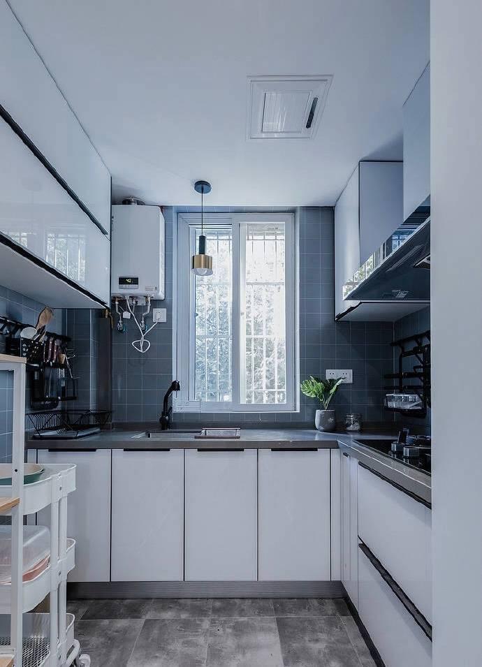 北歐風廚房,看了這些設計后,美呆了!