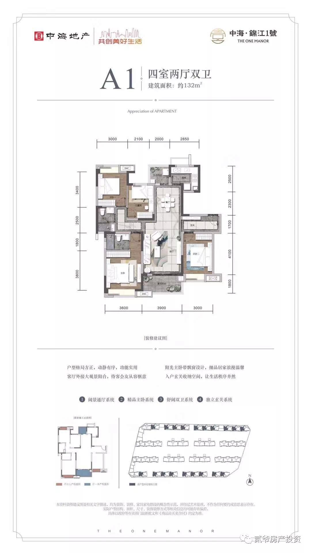 贵族血统,正宗牛鼻子板块,开盘价14500元/平!