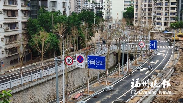 观风亭道路工程有望下月通车 将与观风亭街相连