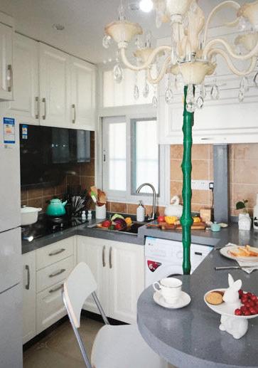 芜湖团结新村4平米老旧厨房装修改造案例