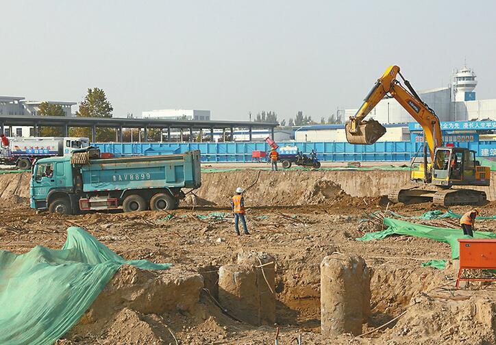 济南机场北指廊扩建工程已开工 2020年南北指廊双廊合璧