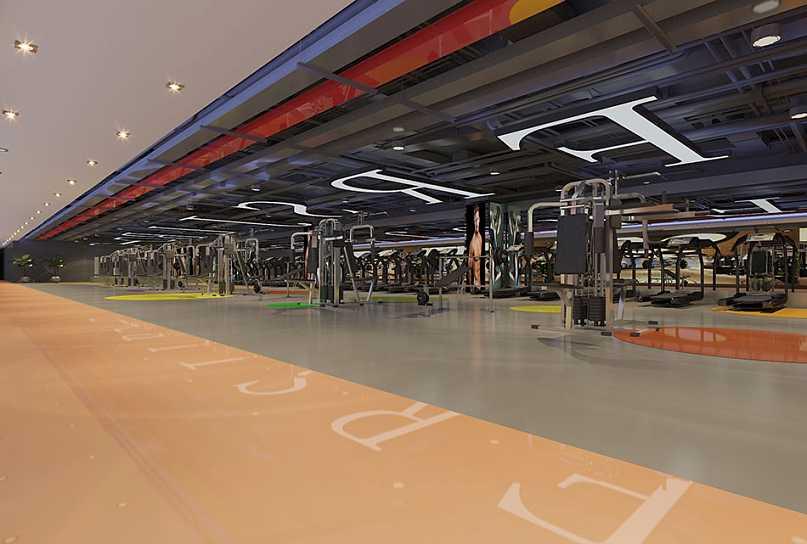健身房装修设计风格和健身房装修设计类别