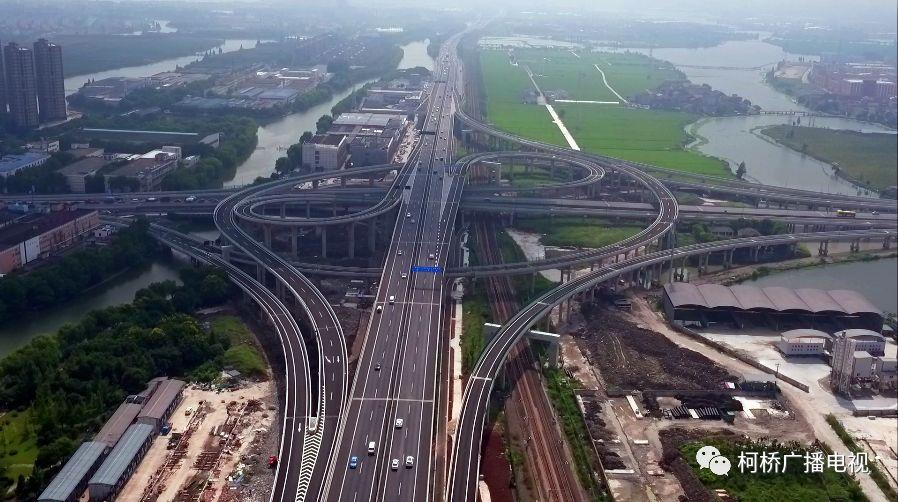 好消息!轻纺城大道高架镜水路互通9月8日正式通车!