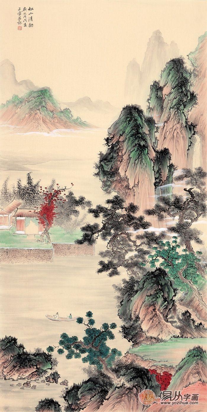 新中式客厅装饰画盘点—契合人心深处对传统文化的热爱