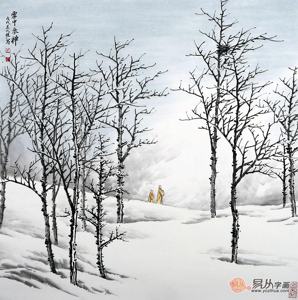 冰冻三尺非一日之寒,画功了得非一日之习,山水画家吴大恺