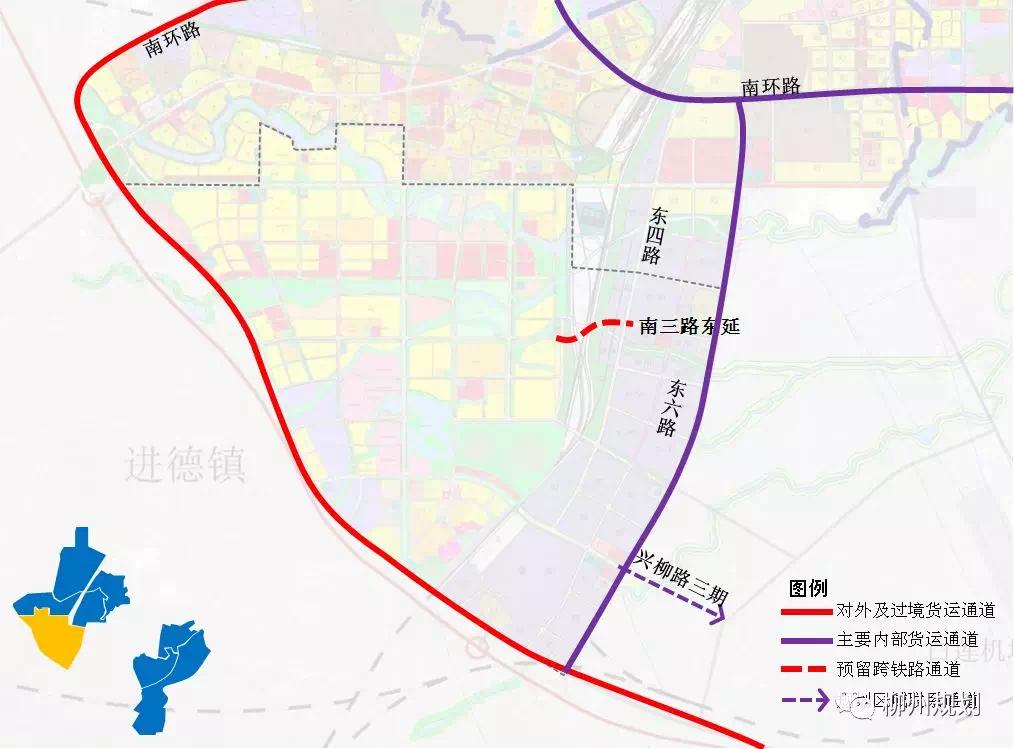 规划动态:柳江新城区跟主城区怎么衔接?