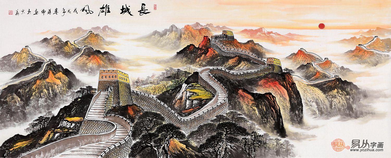 古典雅致的新中式家居,山水画享受惬意闲适的居家生活!