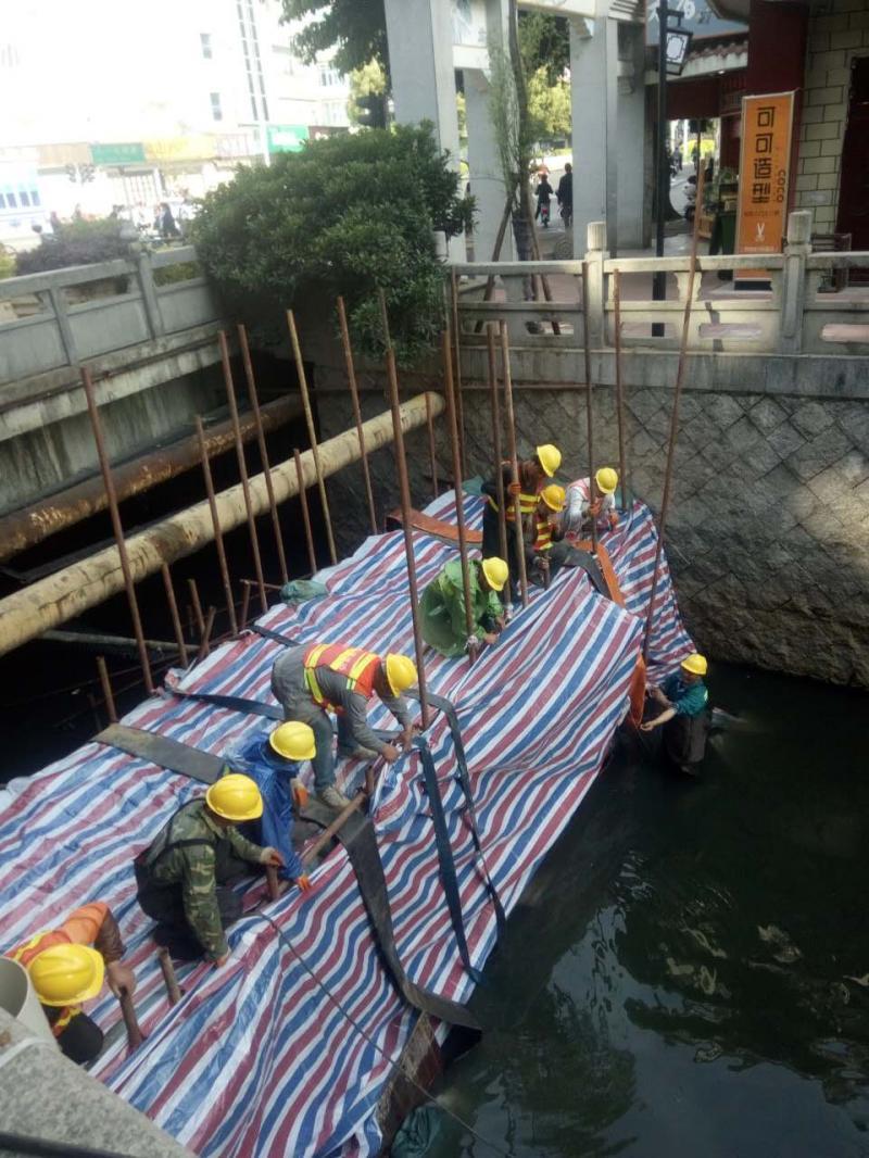福州清淤项目进入关键节点 本月底将完成部分河道排口改造