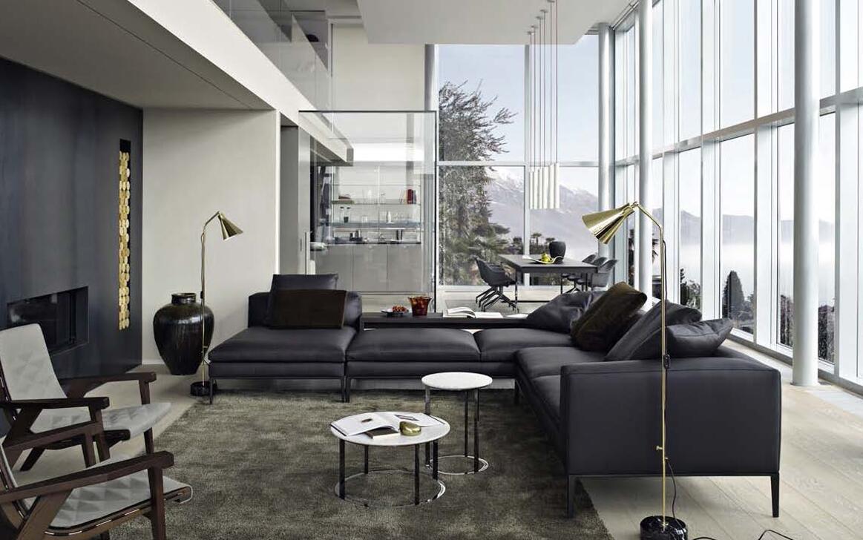 B&B ITALIA家具現代簡約風格,多工功能沙發