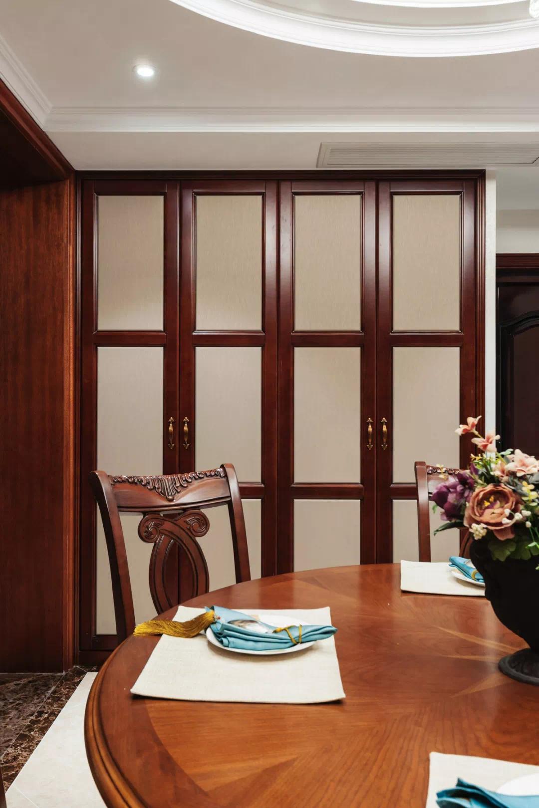 新中式轻奢风格经典设计:一扇门,两个世界,两种生活, 新中式 装修 第7张
