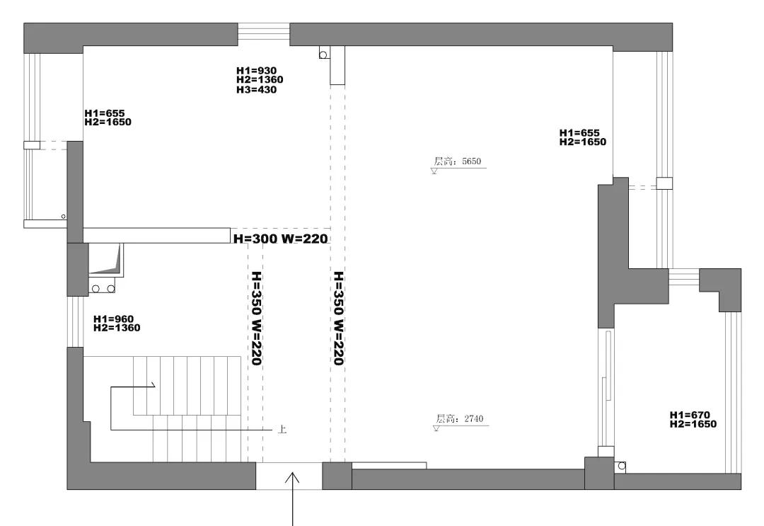 设计师50m²魔改五房,六口之家一点都不挤! 设计师 第1张