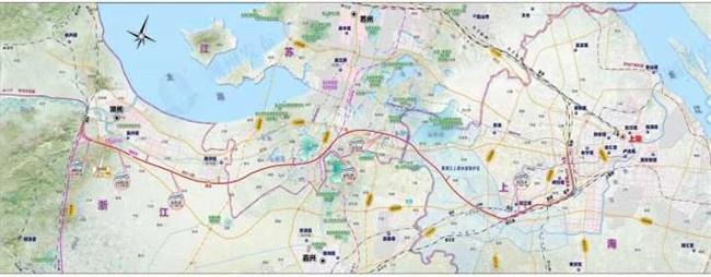 沪苏湖铁路获批 湖州到上海高铁今后只需40分钟左右