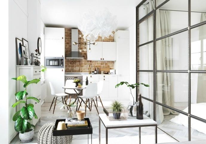 芜湖90平北欧小公寓装修效果图