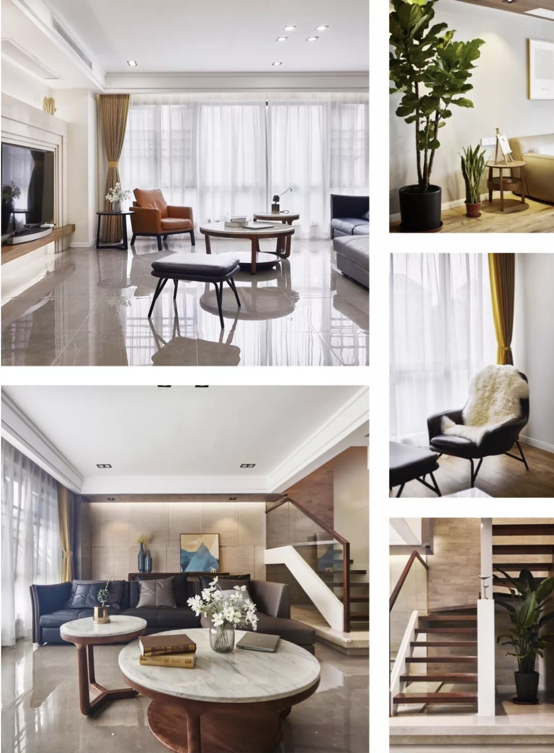 近200m²双层大house,现代生活,舒适,藏不住! 现代 舒适 装修设计 第3张
