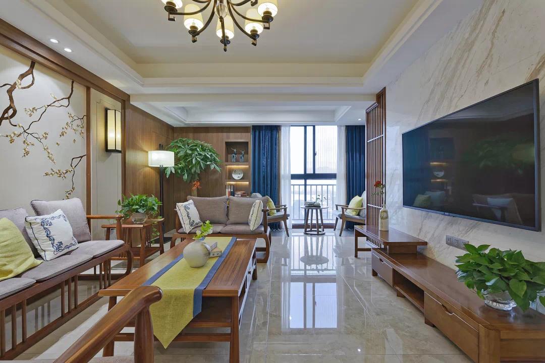 新中式家装:享受传统文化和舒适带来的美好体验 新中式 家装 第6张