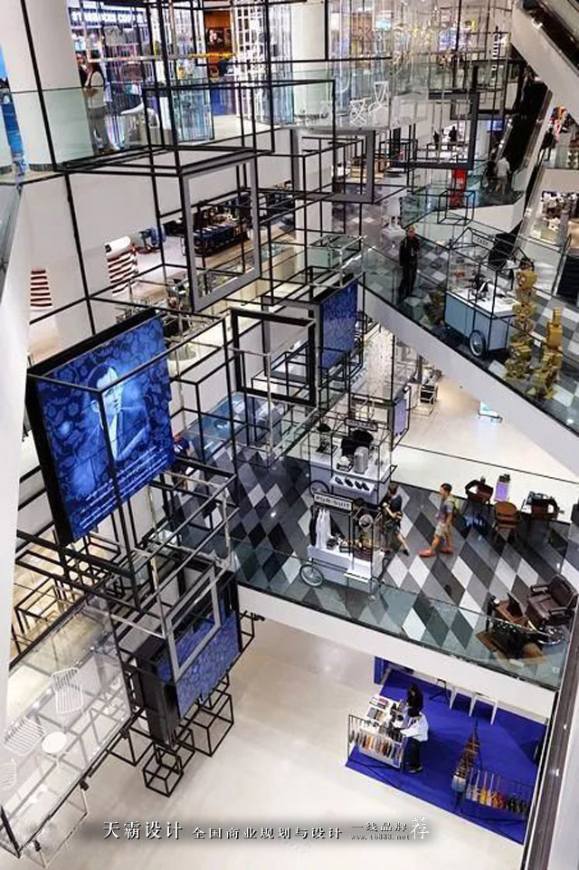 """购物中心曼谷暹罗发现中心以""""探索生活方式""""为设计意向"""