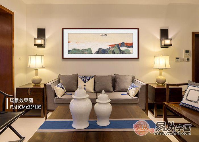 沙发背景墙装饰画推荐,帮你告别大白墙