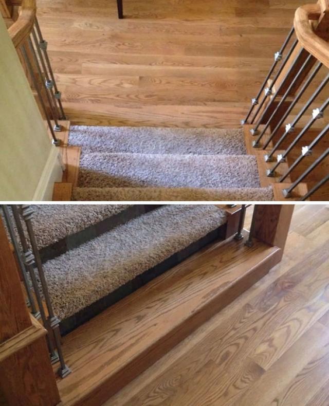 史上最坑爹的樓梯設計 想不摔跤都難!