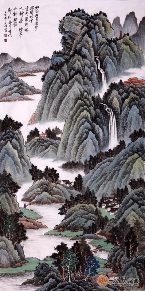 画家吴大恺的山水画怎么样?易从带你详细了解吴大恺的艺术人生