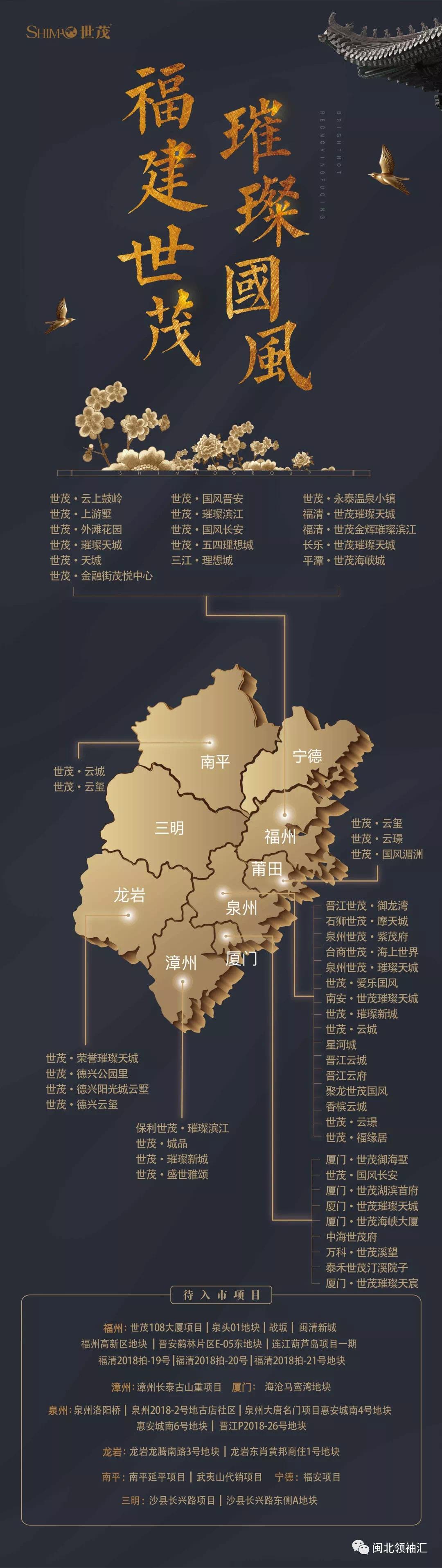 【千亿世茂 六星闪耀】世茂闽北组团2018品牌发布会盛大落幕