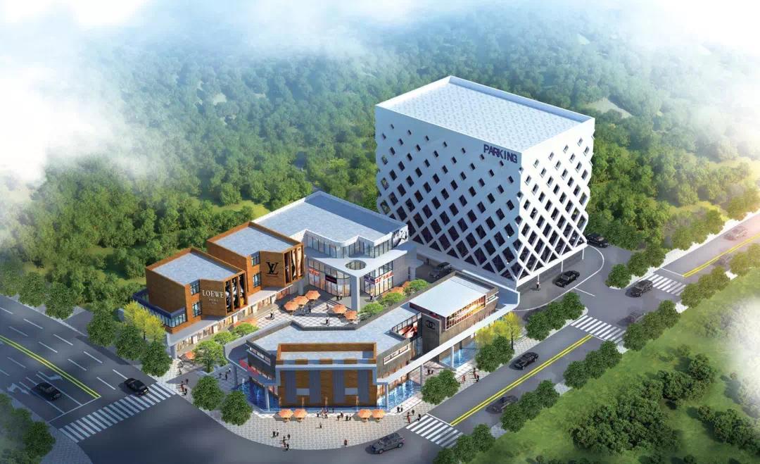 大理海东新区新建立体停车楼 缓解交通压力解决停车难题