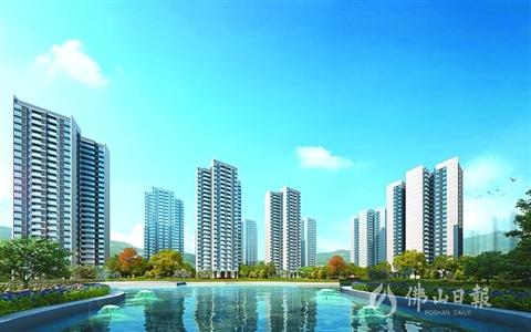 三水北部打造同城化新高地 品牌房企聚集
