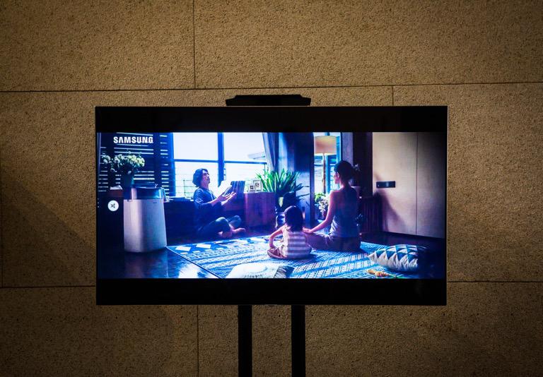 科技邂逅典藏,三星电视进驻国博护航文化传承