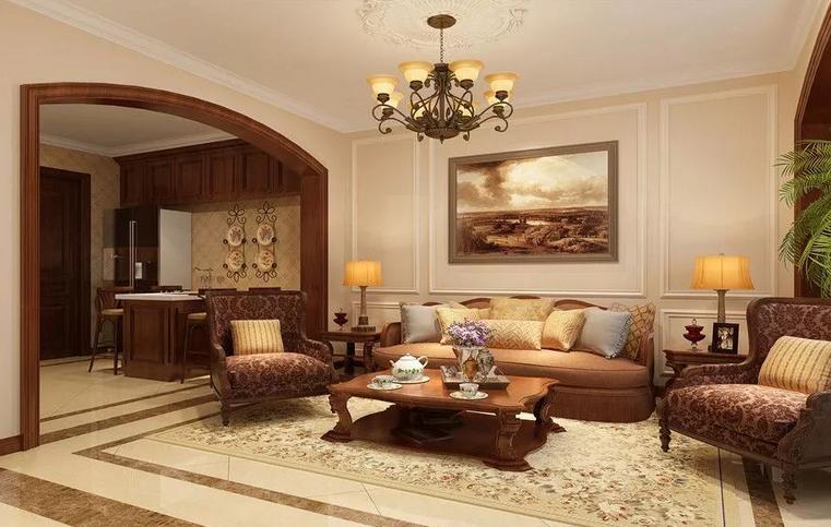 给爸妈房子装修的美式风格,温馨又朴素,喜欢的不得了!