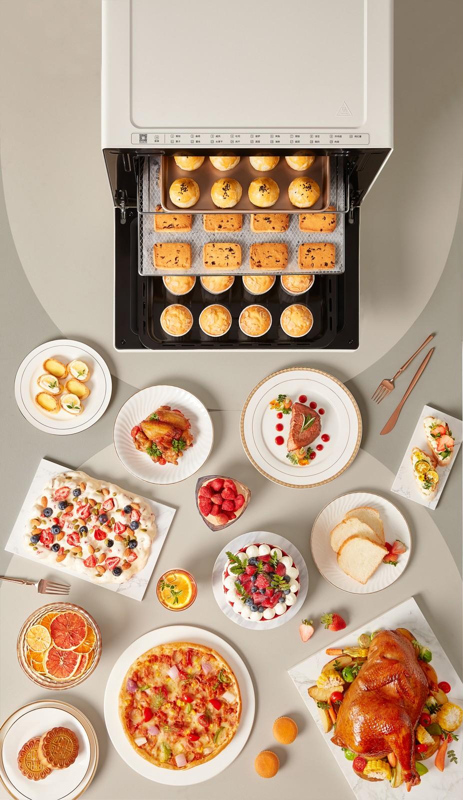 《【摩登3app登录】长帝年度重磅:大白鲸烤箱,多层同烤让下厨更高效》