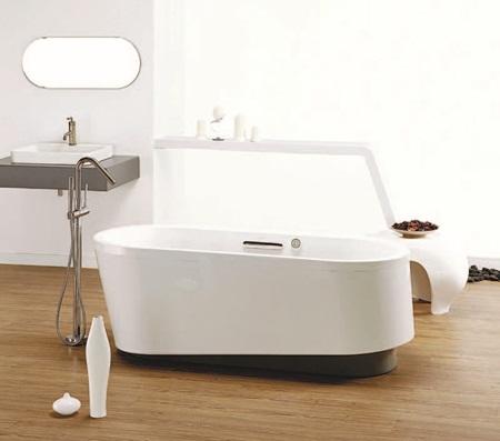 打造浪漫梦幻浴室必备的 独立式浴缸