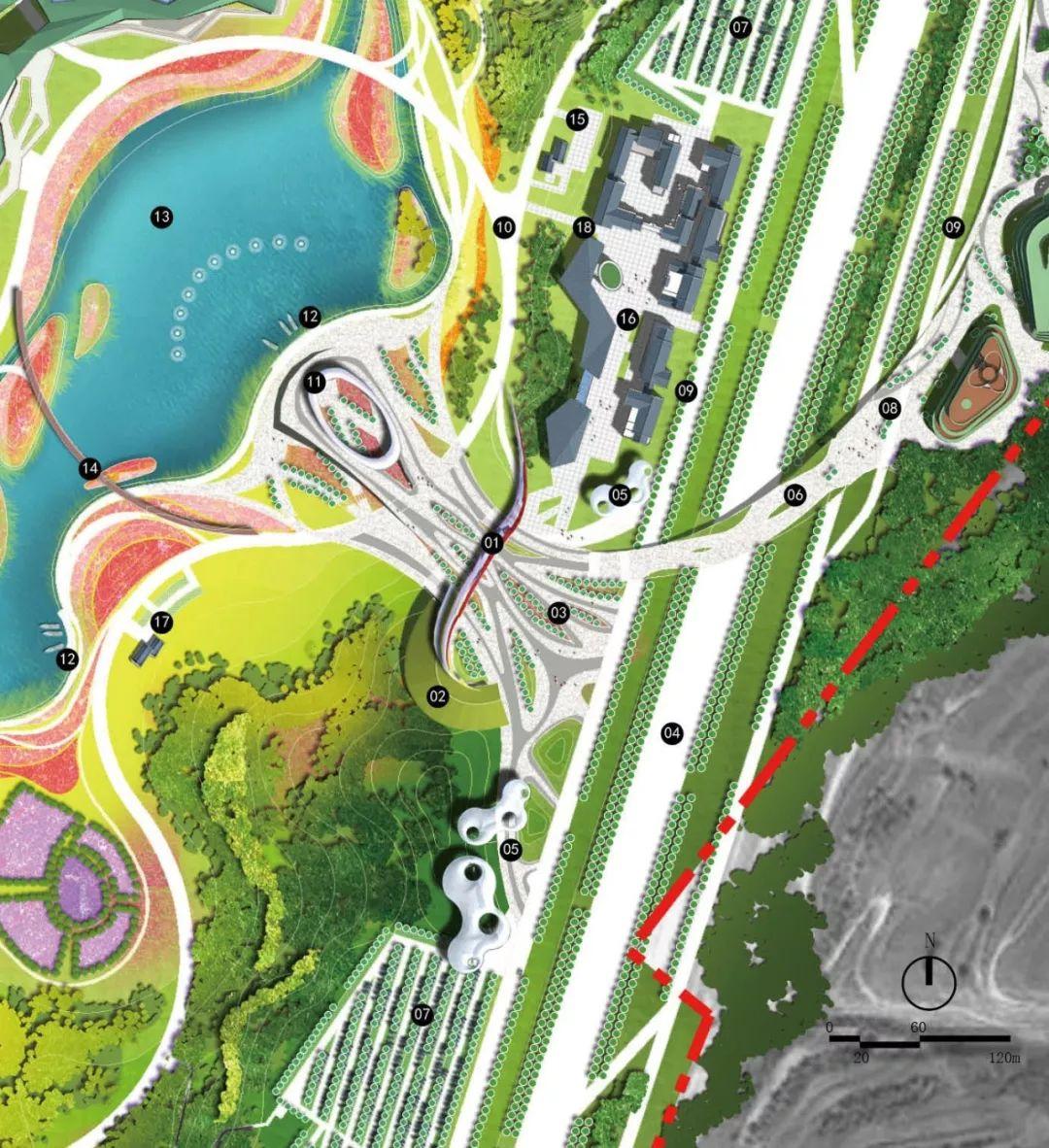西宁园博园建设快马加鞭 春季绿化任务将在5月底完成