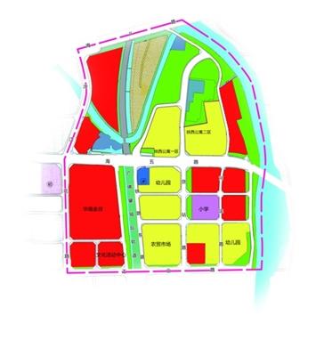 佛山城市中轴线北门户控制性详细规划公示 打造滨河景观休闲带