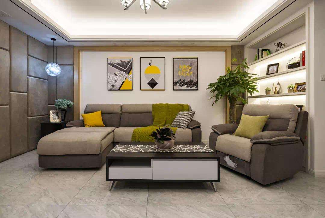 150m²现代混搭:只做专属于你的现代潮流家居生活空间