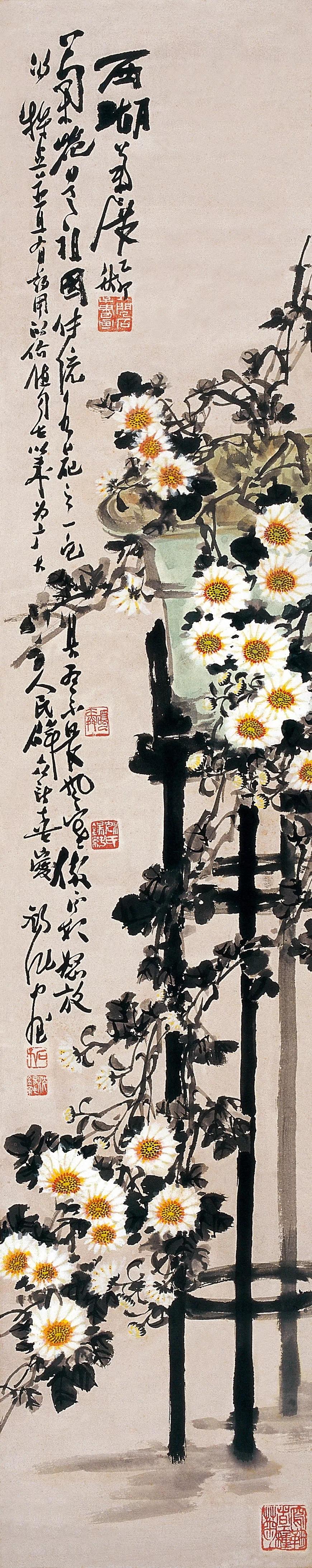 展览|福建省文化厅·闽籍书画名家抢救工程 沈锡纯中国画作品展