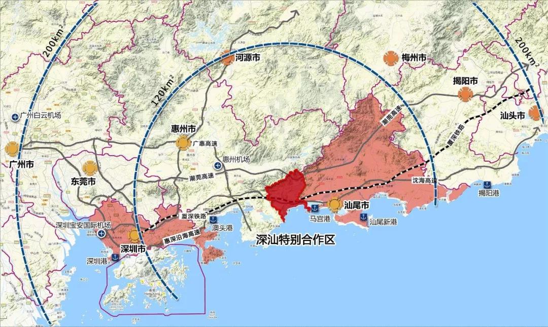 香港提出租借大湾区30平方公里建60万港人新城!惠州最合适?