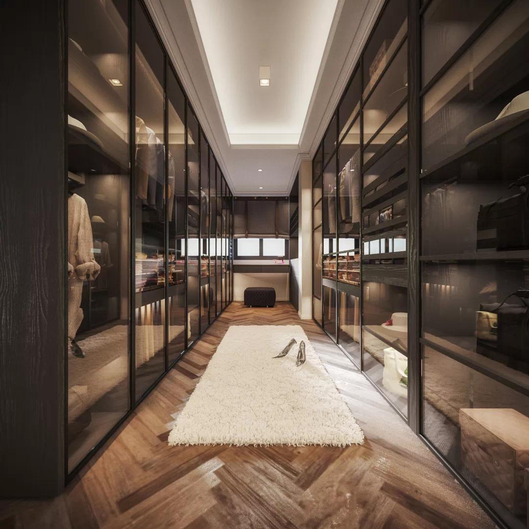 当你老了,你想住什么样的房子?看看这家人的现代混搭风 现代混搭 装修 第6张