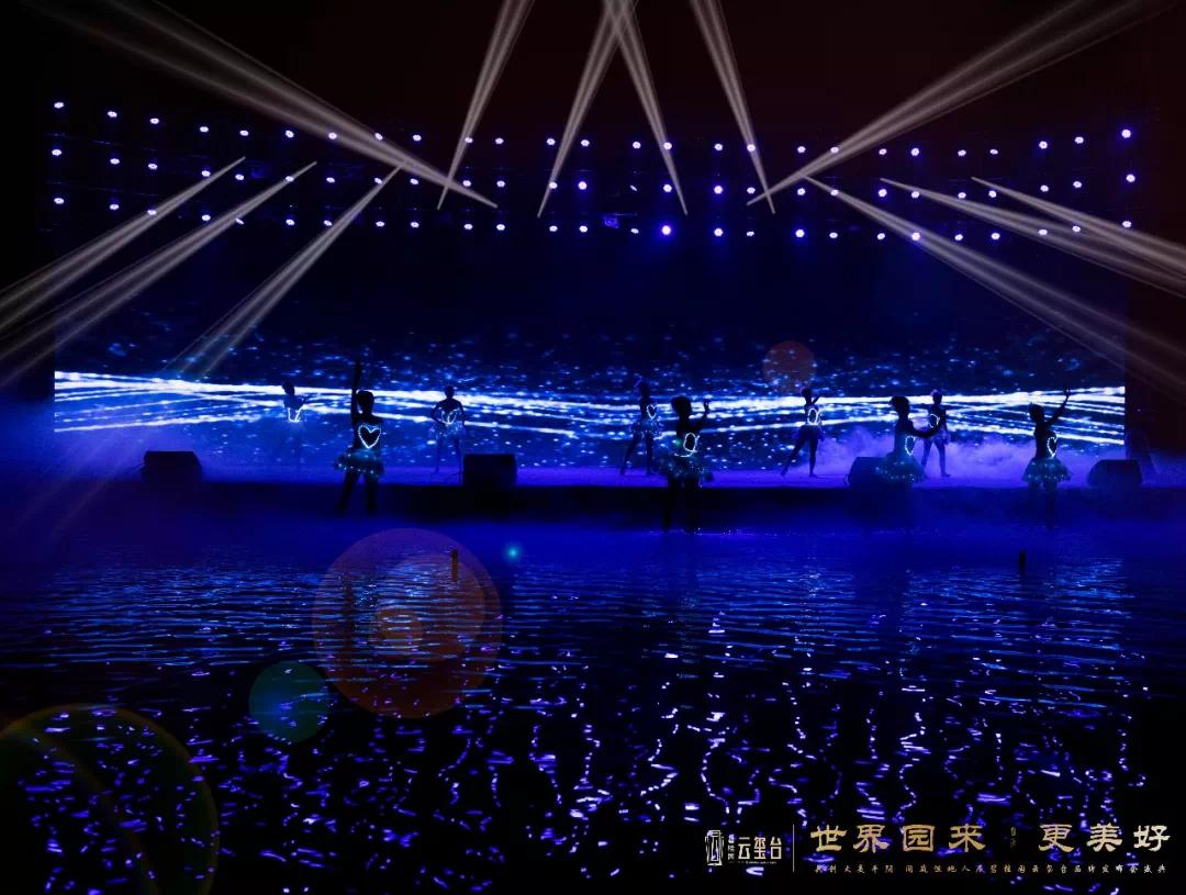 前所未见的碧桂园,惊艳了玫瑰湖,点亮了平阴城!