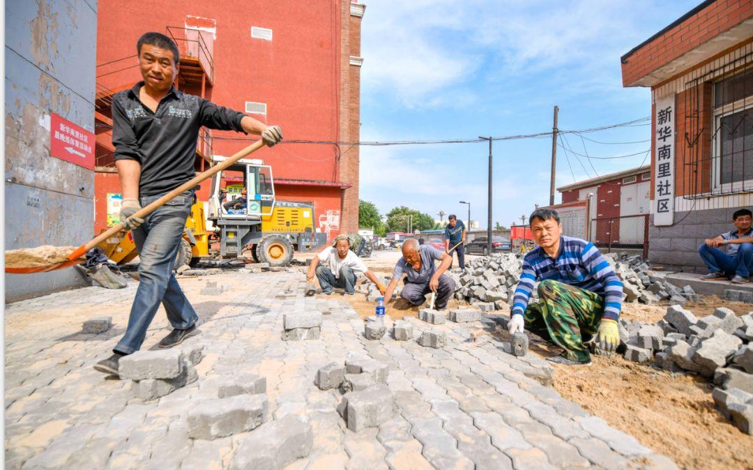 多措并举 ,全力以赴 ,路南区广场街道依法完成拆违工作