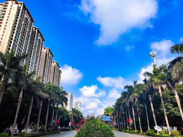 广西城市规划最好的一个城市北海!